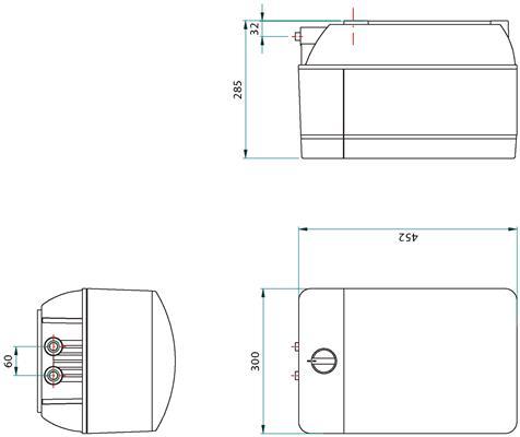 Franke Minerva 3-in-1 kraan COMBI 10L chroom afmetingen