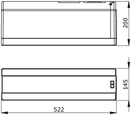 Franke Mondial 3 in 1 kraan COMBI 5L RVS afmetingen