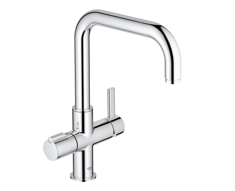 grohe red duo square single boiler