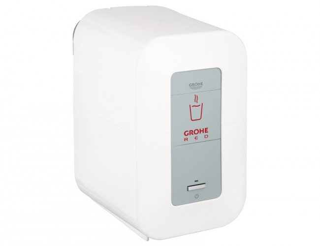 grohe red duo square single boiler. Black Bedroom Furniture Sets. Home Design Ideas