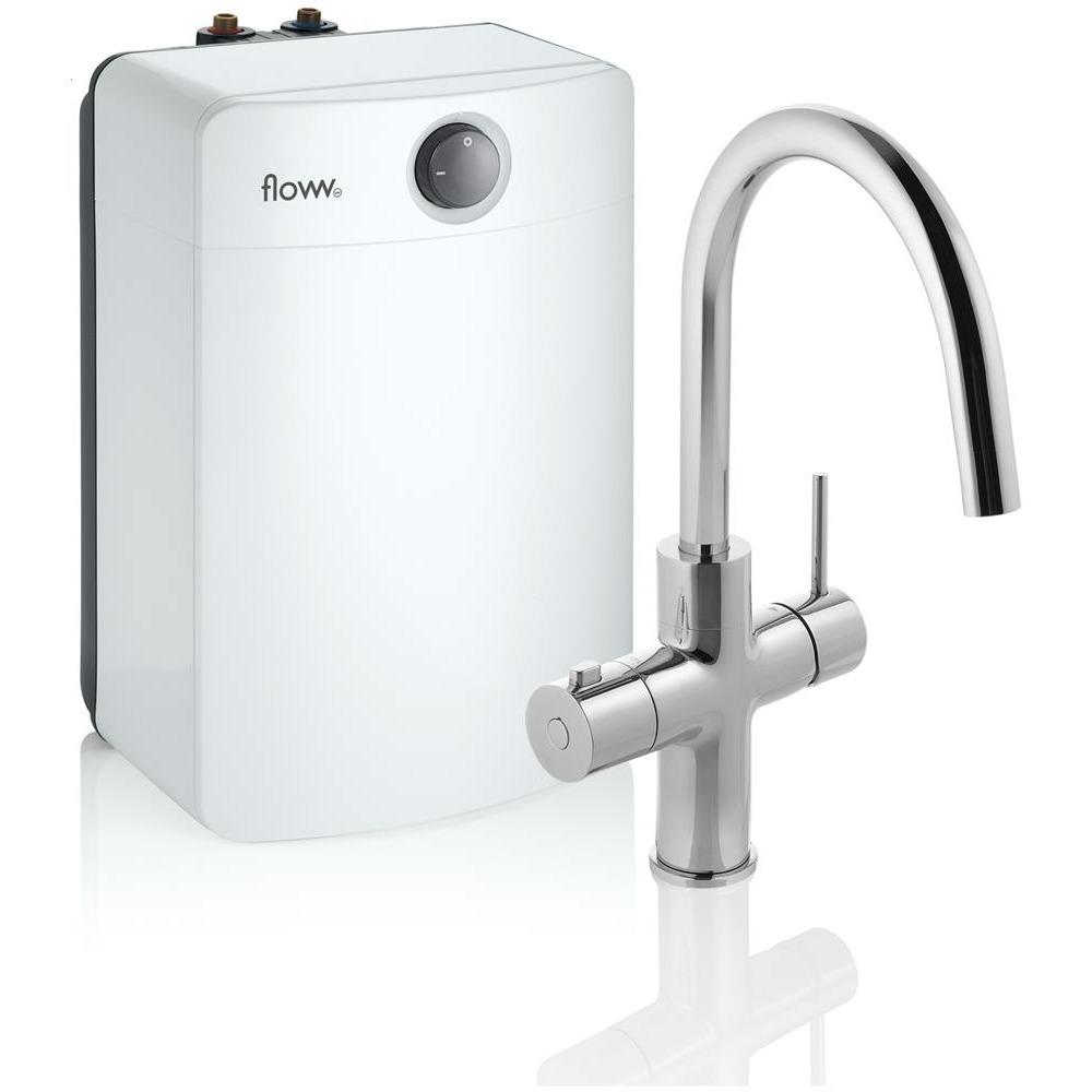 Floww Twist Round Chroom Combi XL boiler