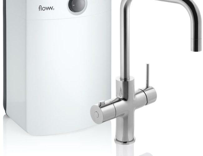 Floww Twist Square Chroom Combi XL boiler