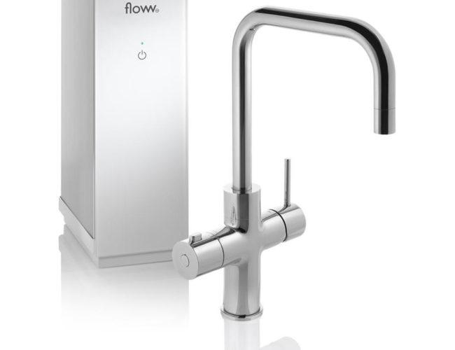 Floww Twist Chroom Square solo boiler