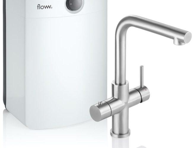 Floww Twist Square RVS Combi XL boiler