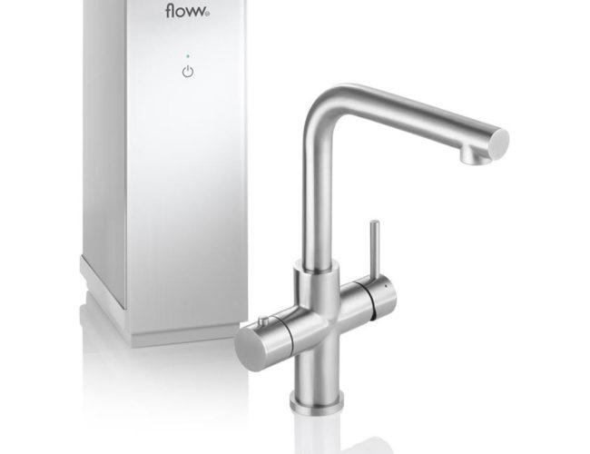 Floww Twist Square RVS Solo boiler