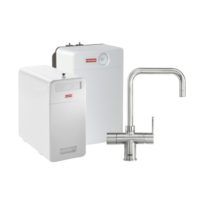 Franke Perfect4 Chilled Irena Chroom Combi XL