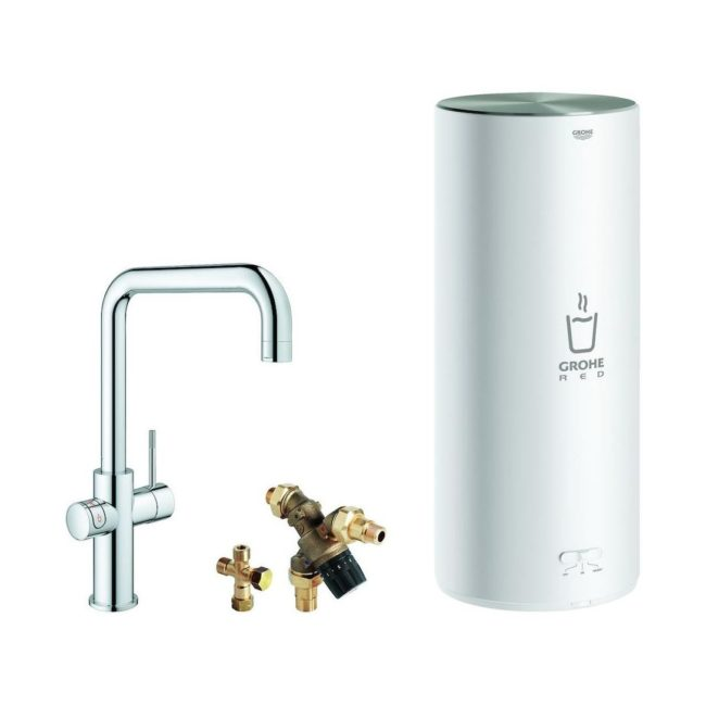 Grohe Red® Duo L Vierkant Chroom