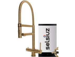 Selsiuz-3-in-1-kokend-water-kraan-Combi-Extra-Boiler-XL-Gold