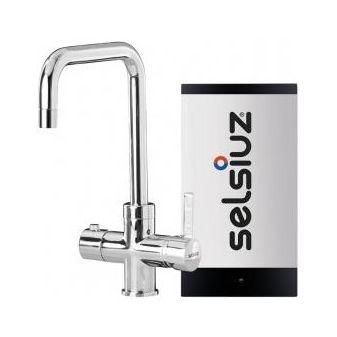 Selsiuz 350202 Vierkant Chroom Single Boiler