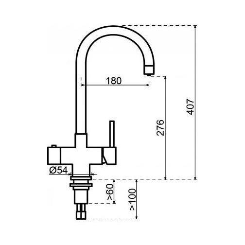 Selsiuz 350212 Rond inox Single Boiler