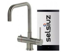 Selsiuz 350216 Vierkant Inox-look Single Boiler