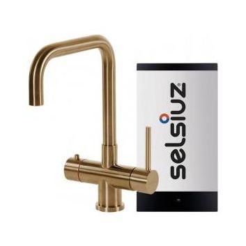 Selsiuz 350219 Vierkant Goud Single Boiler