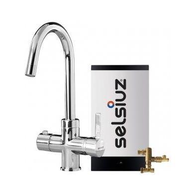 Selsiuz 350237 Rond Chroom Combi Extra Boiler
