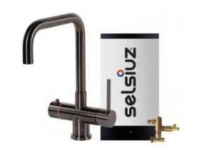 Selsiuz 350244 Vierkant Gun Metal Combi Extra Boiler