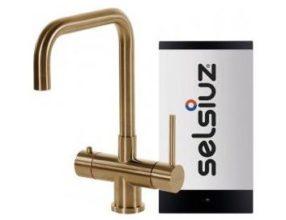 Selsiuz 350246 Rechthoekig Goud Combi Extra Boiler