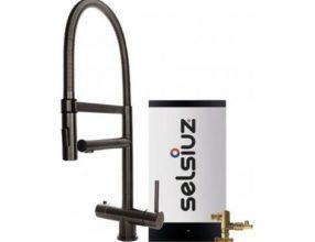 Selsiuz 350248 XL Gun Metal Combi Extra Boiler
