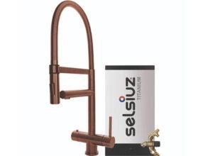 Selsiuz-kokend-water-kraan-Titanium-Combi-extra-boiler-XL-Copper