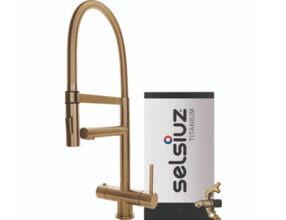 Selsiuz-kokend-water-kraan-Titanium-Combi-extra-boiler-XL-Gold