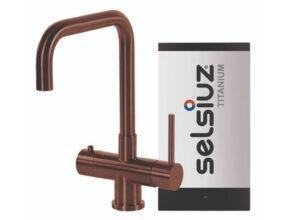 Selsiuz-kokend-water-kraan-Titanium-Single-Boiler-Haaks-Copper