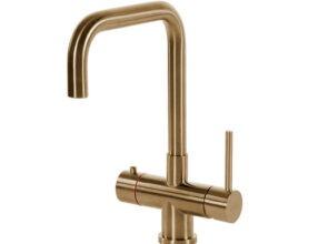 Selsiuz-kokend-water-kraan-Titanium-Single-Boiler-Haaks-Gold-kraan