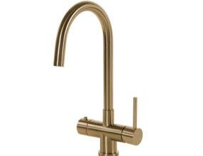 Selsiuz-kokend-water-kraan-Titanium-Single-Boiler-Rond-Gold-kraan
