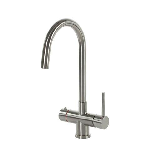 Selsiuz-kokend-water-kraan-Titanium-Single-Boiler-Rond-RVS-kraan