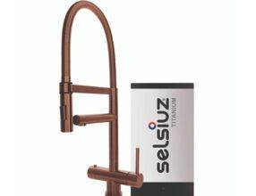 Selsiuz-kokend-water-kraan-Titanium-Single-Boiler-XL-Copper