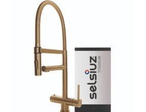 Selsiuz-kokend-water-kraan-Titanium-Single-Boiler-XL-Gold