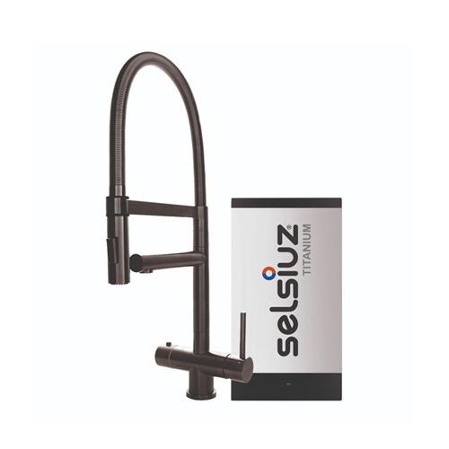 Selsiuz-kokend-water-kraan-Titanium-Single-Boiler-XL-Gun-Metal