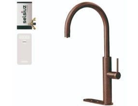 Selsiuz-kokend-water-kraan-Titanium-Combi-Extra-Boiler-Cooler-Gessi-Copper