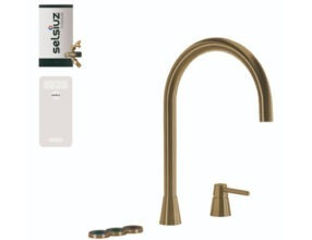 Selsiuz-kokend-water-kraan-Titanium-Combi-Extra-Boiler-Cooler-Osiris-Cone-Counter-Gold