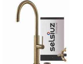 Selsiuz-kokend-water-kraan-Titanium-Combi-Extra-Boiler-Gessi-Gold
