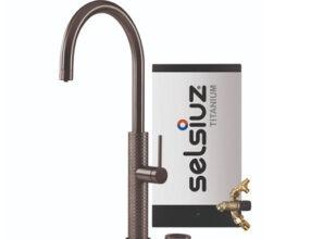Selsiuz-kokend-water-kraan-Titanium-Combi-Extra-Boiler-Gessi-Gun-Metal