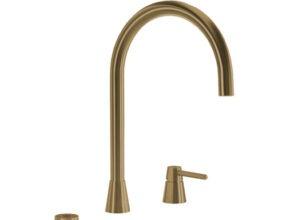Selsiuz-kokend-water-kraan-Titanium-Combi-Extra-Boiler-Osiris-Cone-Counter-Gold-kraan
