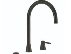 Selsiuz-kokend-water-kraan-Titanium-Combi-Extra-Boiler-Osiris-Cone-Counter-Gun-Metal-kraan