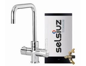 Selsiuz-kokend-water-kraan-Titanium-Combi-extra-boiler-Haaks-Chroom