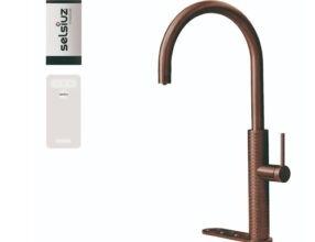 Selsiuz-kokend-water-kraan-Titanium-Single-Boiler-Cooler-Gessi-Copper