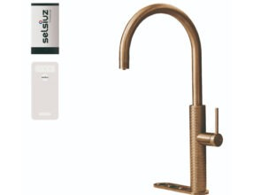 Selsiuz-kokend-water-kraan-Titanium-Single-Boiler-Cooler-Gessi-Gold
