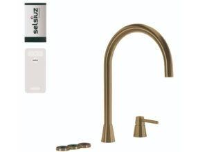 Selsiuz-kokend-water-kraan-Titanium-Single-Boiler-Cooler-Osiris-Cone-Counter-Gold