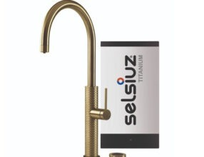 Selsiuz-kokend-water-kraan-Titanium-Single-Boiler-Gessi-Gold