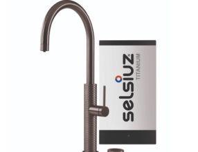 Selsiuz-kokend-water-kraan-Titanium-Single-Boiler-Gessi-Gun-Metal
