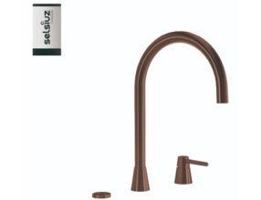 Selsiuz-kokend-water-kraan-Titanium-Single-Boiler-Osiris-Cone-Counter-Copper